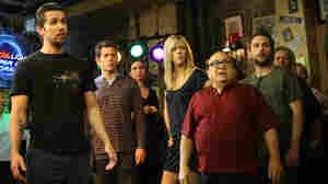 Actor Danny DeVito and the cast of 'It's Always Sunny In Philadelphia.'