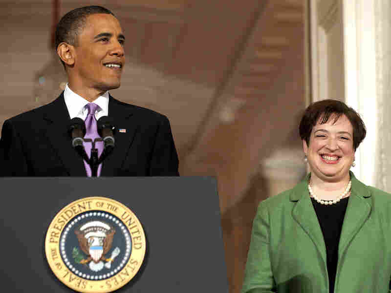 President Obama and Elena Kagan