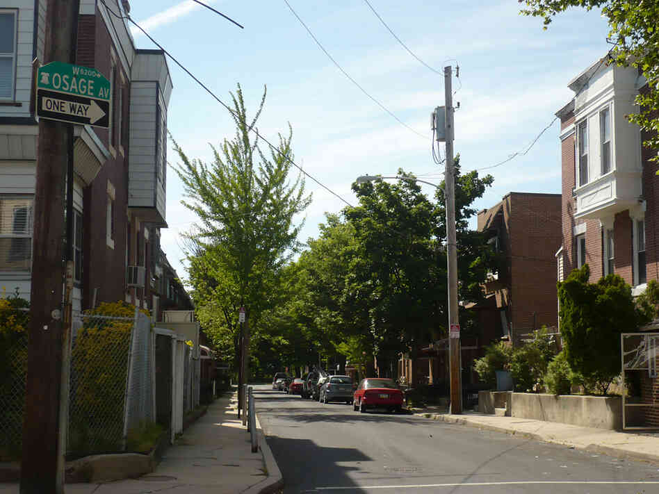The 6200 block of Osage Avenue in Philadelphia