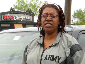 Rachel Caesar left the Army after serving for 14  years.