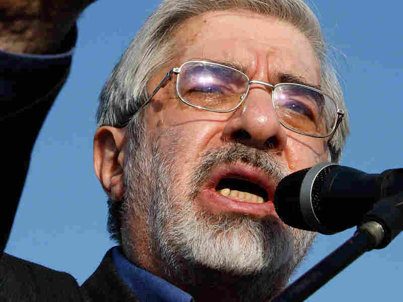 Iranian opposition leader Mir Hossein Mousavi