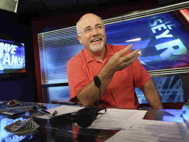 Dave Ramsey in his broadcasting studio in Brentwood, Tenn