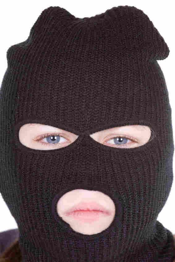 A boy in a ski mask. iStockphoto.com