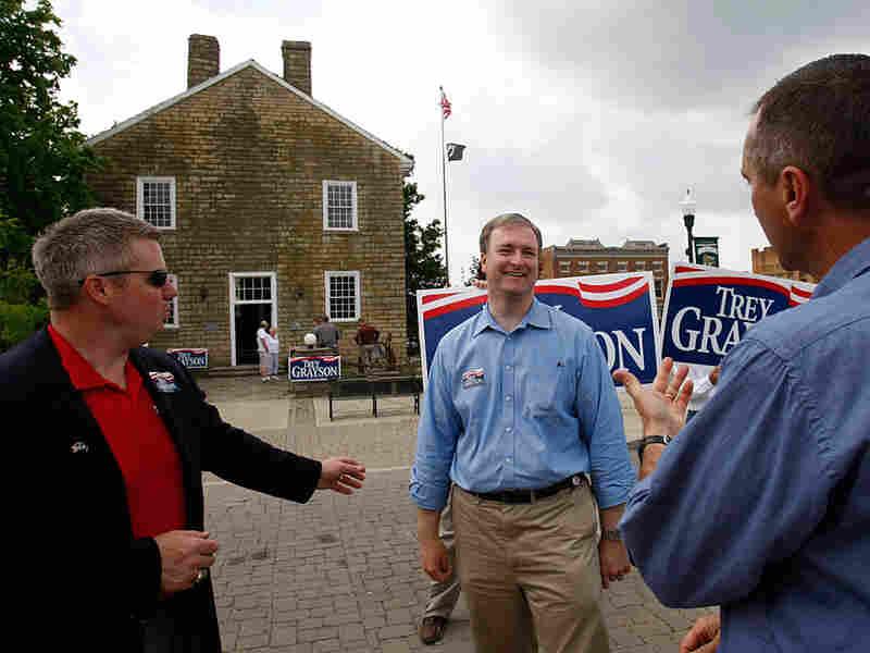 U.S. Senate candidate Trey Grayson
