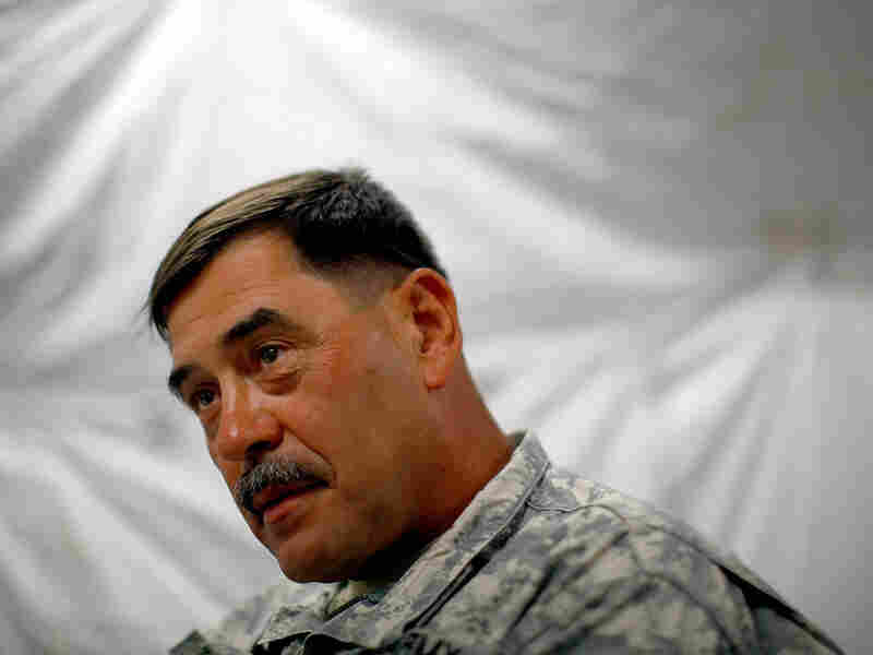 U.S. Army Major Gen. Simeon Trombitas, who is in charge of U.S. forces in Haiti