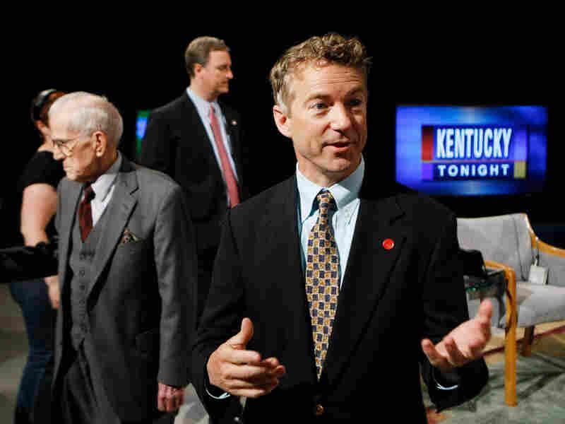 Republican Senate candidate Rand Paul