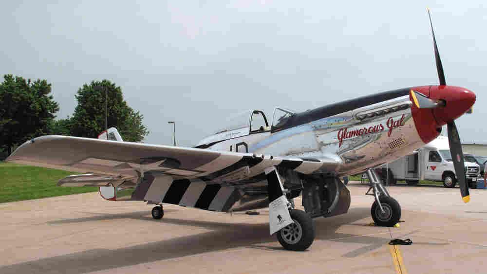 """Glamorous Gal,"" a P-51 Mustang. Gemma Watters/NPR."