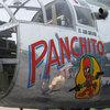 """Panchito,"" a World War II-era B-25 bomber. Gemma Watters/NPR."