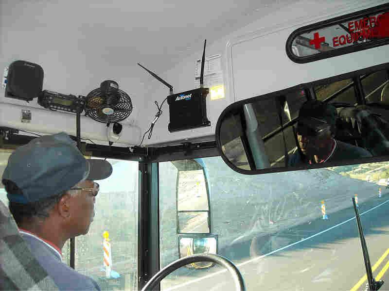 Bus driver JJ Johnson