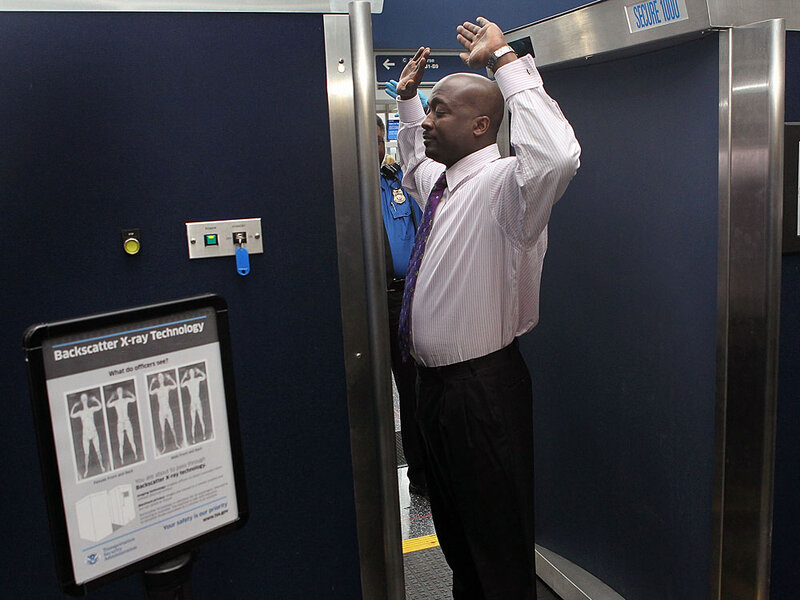 Scientists Question Safety Of New Airport Scanners : NPR