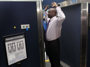 More airports are using Backscatter scanners like this one at O'Hare International Airport.