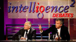 Wesley Clark and Bernard-Henri Levy