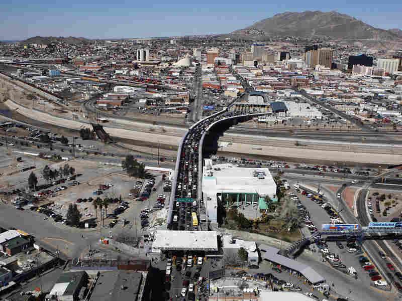 The Santa Fe bridge links Ciudad Juarez, Mexico, with El Paso, Texas.