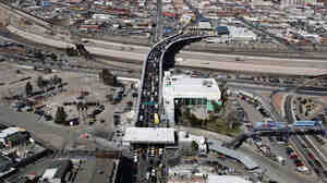The Santa Fe bridge links Ciudad Juarez, Mexico, with El Paso, Texas.