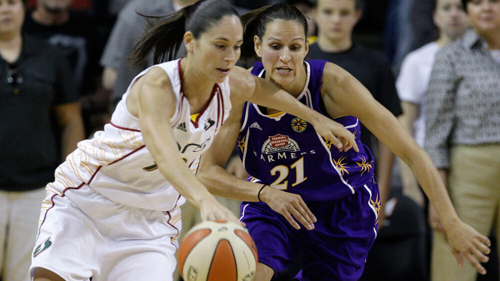In Seattle, The WNBA Reigns : NPR