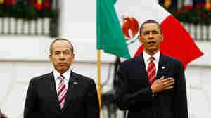 Mexican President Felipe Calderon and President Obama