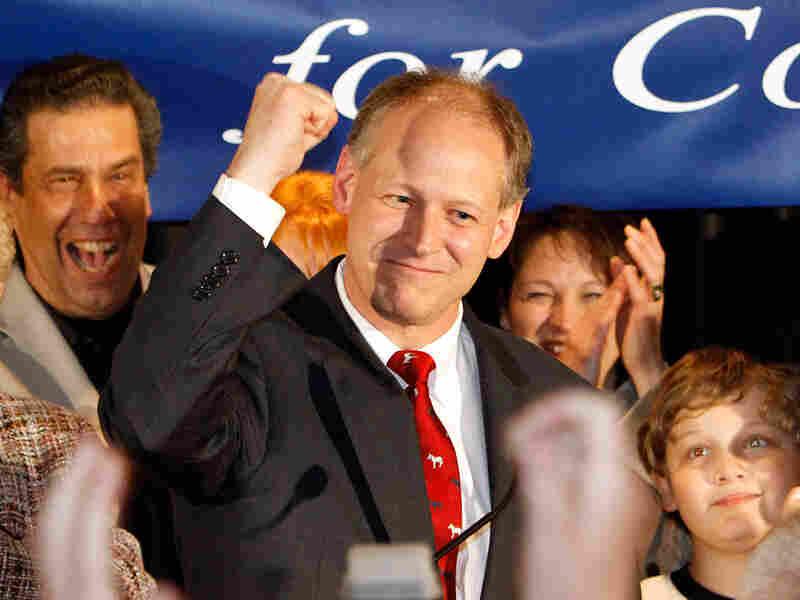 Democratic Rep. Mark Critz beat Republican Tim Burns Tuesday in Pennsylvania's 12th District.