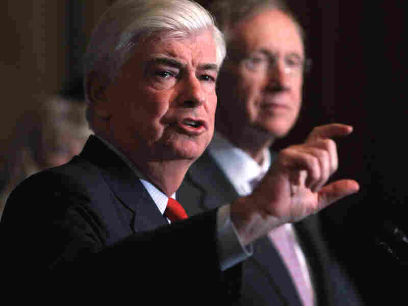 Senate Banking Committee Chairman Christopher Dodd,