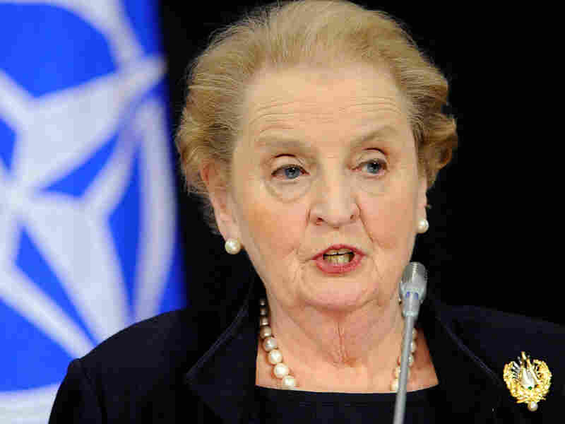 Former US Secretary of State Madeleine Albright