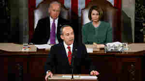 Mexican President Felipe Calderon addresses a joint meeting of the U.S. Congress on Thursday.