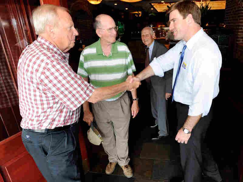 Democratic U.S. Senate candidate Jack Conway