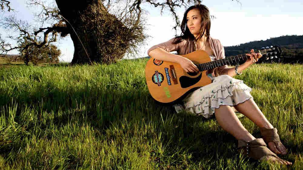 Cambodian-American singer-songwriter Laura Mam