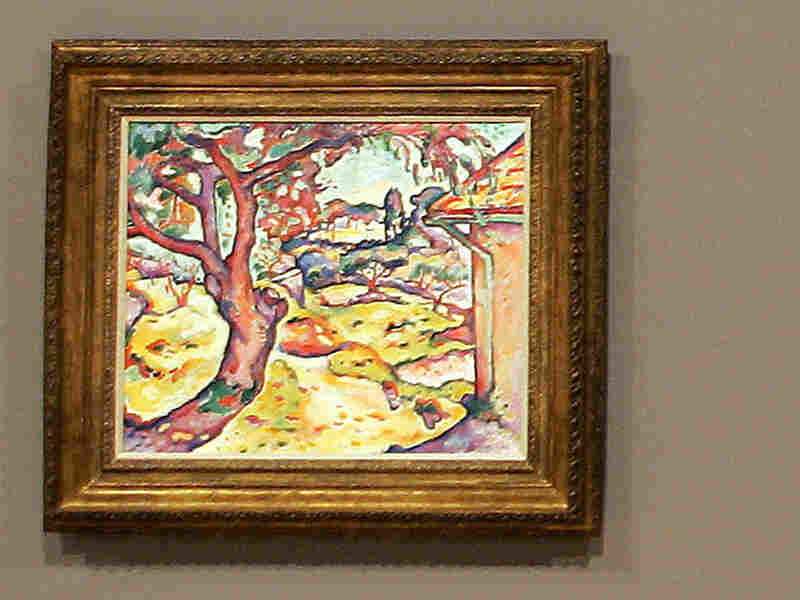 'Olive Tree near Estaque' by Georges Braque was one of five paintings stolen in Paris.