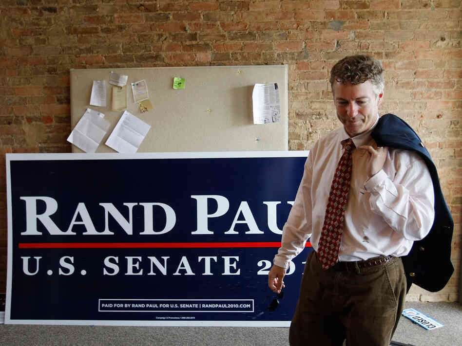 Republican U.S. Senate candidate Rand Paul