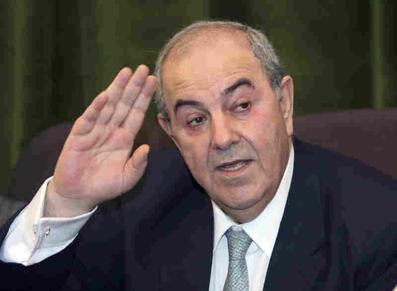 Former Prime Minister Ayad Allawi