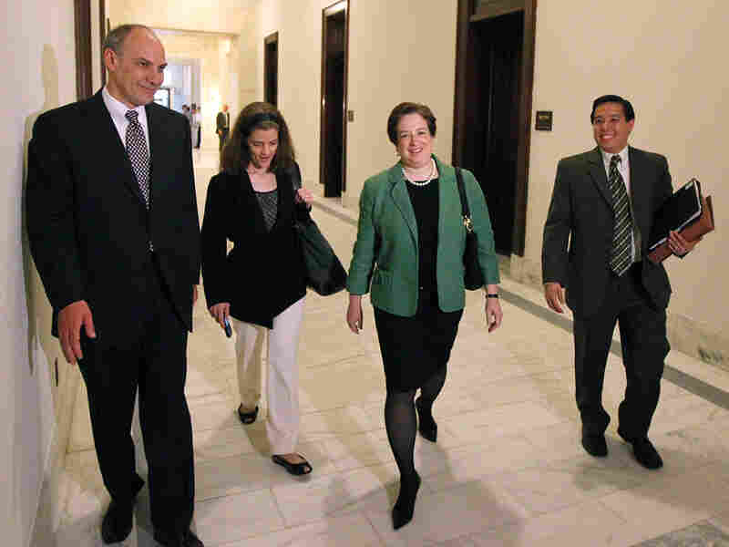 Supreme Court nominee Elena Kagan, Assistant to the President for Legislative Affairs Phil Schiliro