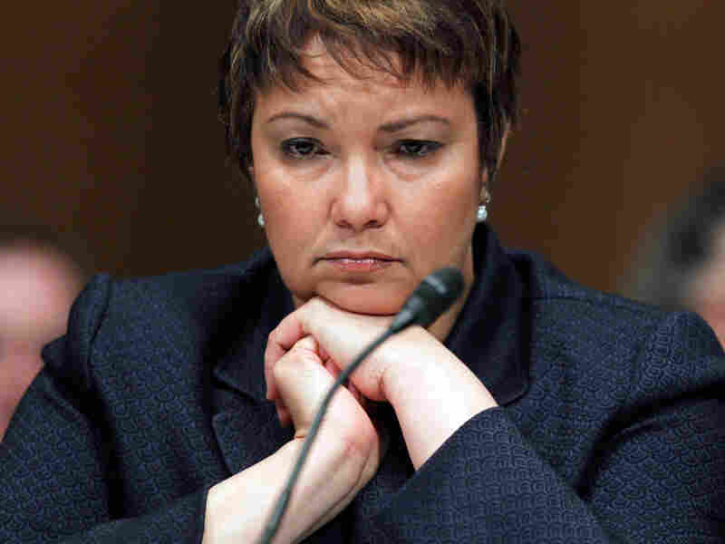 EPA Administrator Lisa Jackson, seen testifying on Capitol Hill
