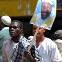 Kenyan Muslims in Nairobi protest detention of Faisal