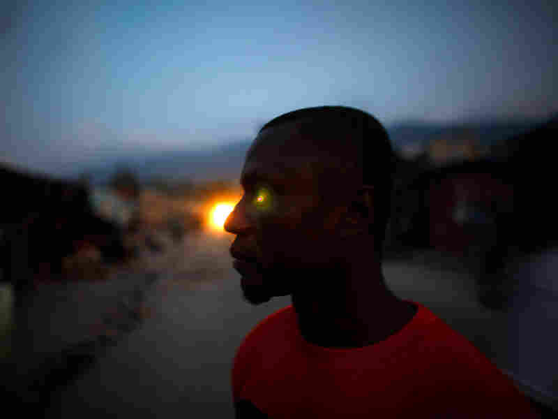 Lofredo Guerrier used to live in the U.S. and lost his home in the Jan. quake