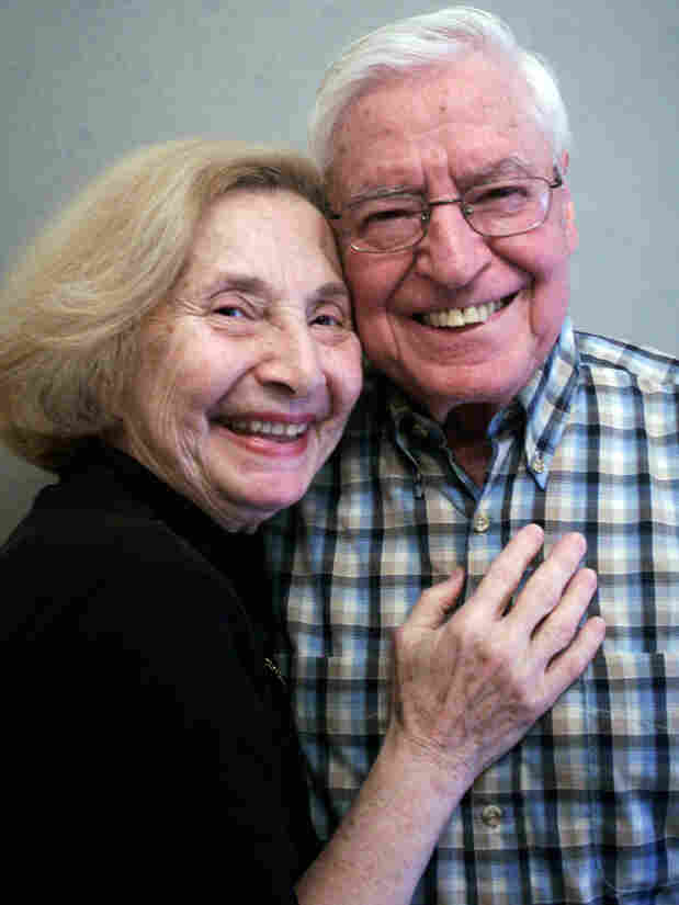 Hunny and Elliot Reiken at StoryCorps in New York City.
