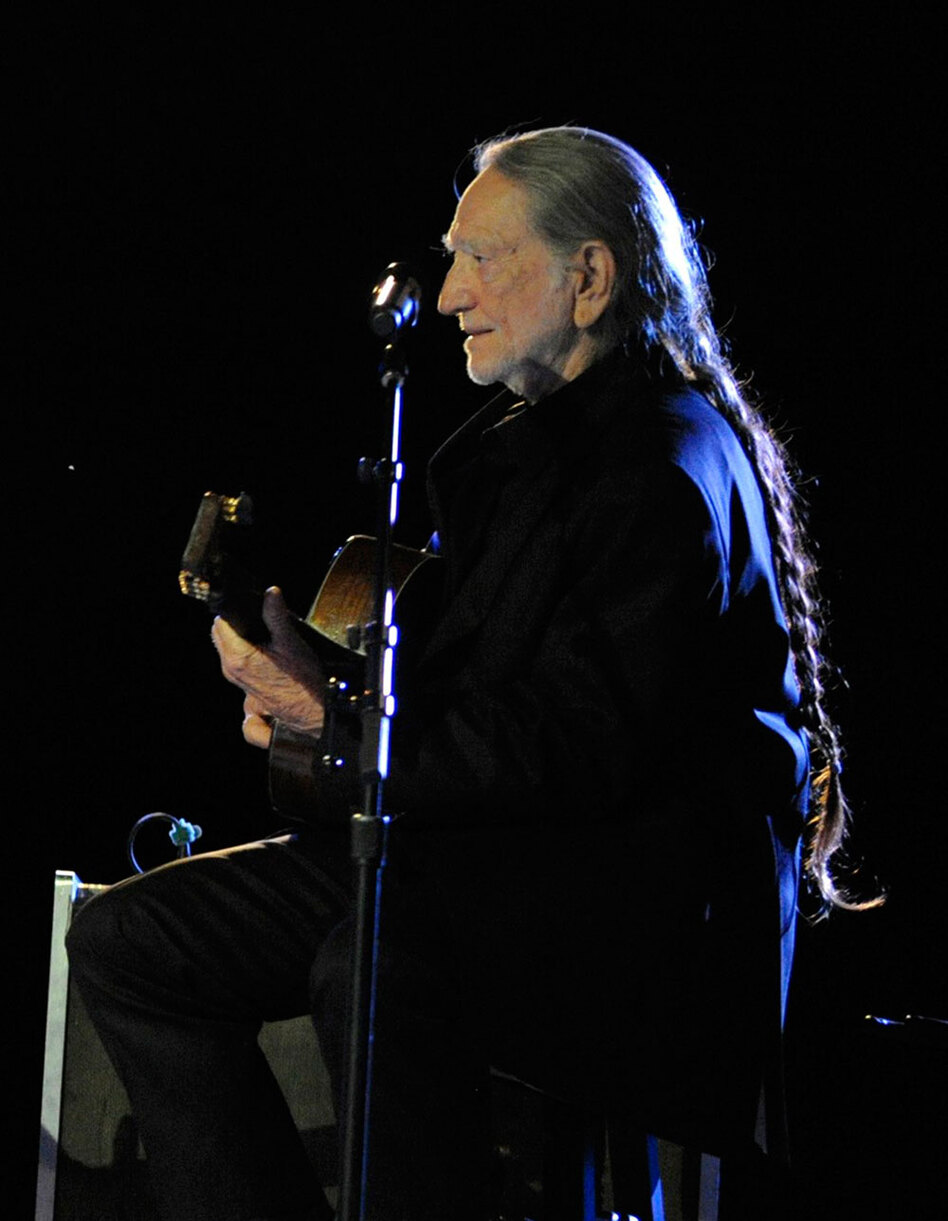 Nelson performs during the 57th Annual BMI Country Awards in Nashville last November.