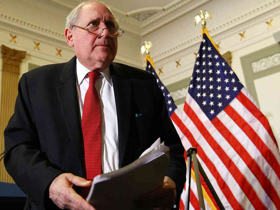 Sen. Carl Levin in April