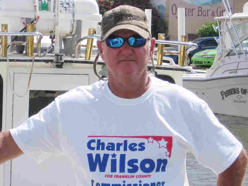 Charter captain Charles Wilson