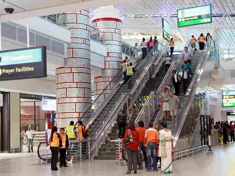 The newly built King Shaka International Airport opened on May 1.