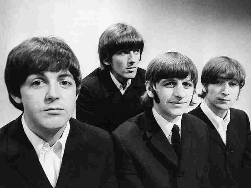 The Beatles (from left): Paul McCartney, George Harrison, Ringo Starr and John Lennon