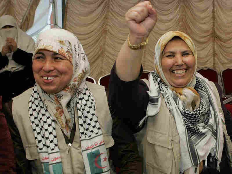 Pro-Palestinian activists, who were detained aboard the Gaza-bound aid flotilla