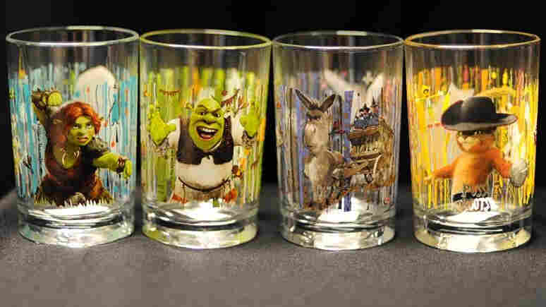 Shrek glasses recalled by McDonald's