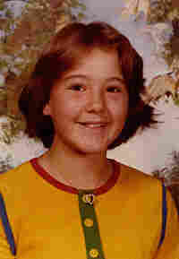 Shannon Perich in third grade