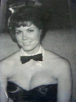 Nancy Downey Caddick as a Playboy Bunny in the 60s. Courtesy Nancy Downey Caddick.
