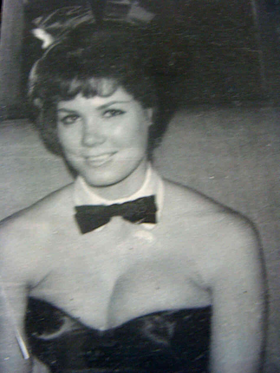 Nancy Downey Caddick as a Playboy Bunny in the 60s. Courtesy Nancy Downey Caddick.