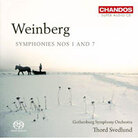 Cover for Weinberg: Symphonies Nos. 1 & 7