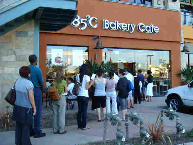 The 85C coffee shop in Irvine, Calif., opened in the fall of 2008.