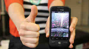 The HTC Droid Eris gets a thumbs up.