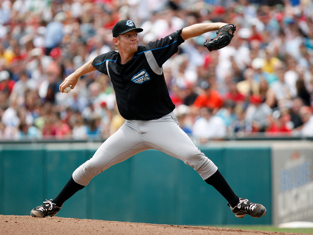 Stephen Strasburg's minor-league starts were meant to help him deal with pressure. There was just one problem: Hardly anyone could hit his pitches. (AP)