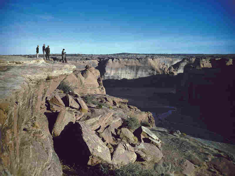 Canyon de Chelly in 1945