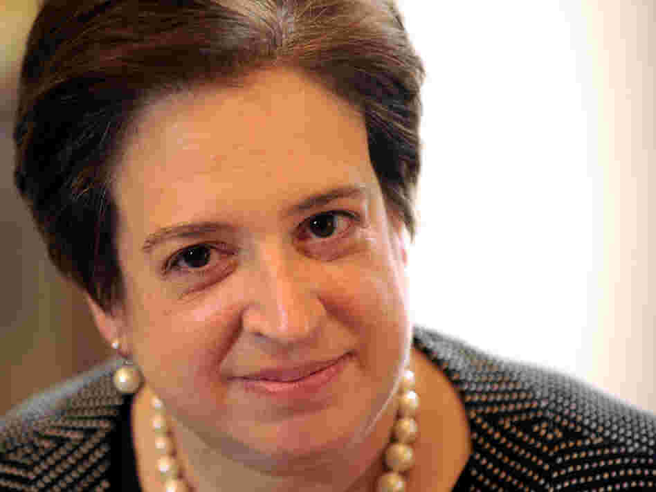 U.S. Supreme Court nominee Elena Kagan